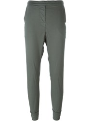 Kristensen Du Nord Cropped Trousers Green