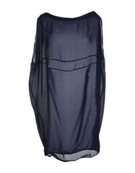 Byblos Short Dresses Dark Blue