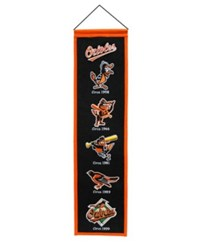Winning Streak Baltimore Orioles Heritage Banner Team Color