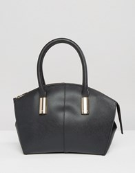 Lipsy Black With Contrast Lining Tote Bag Black