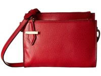 Lodis Stephanie Rfid Under Lock Key Trisha Double Zip Wallet On A String Red Wallet Handbags