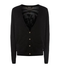 Juicy Couture Embellished Panel Cardigan Female