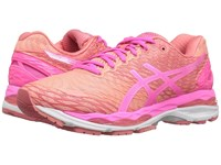 Asics Gel Nimbus 18 Peach Hot Pink Guava Women's Running Shoes