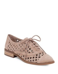 Jessica Simpson Dalasia Cut Out Oxfords Medium Brown