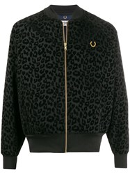 Fred Perry Miles Kane Lepoard Track Jacket 60