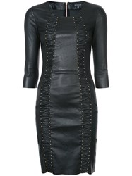 Jitrois Express Dress Women Lamb Skin 36 Black