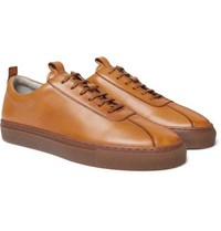 Grenson Leather Sneakers Brown