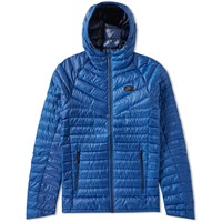 Nike Hooded Down Jacket Blue