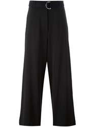 Hache Belted Trousers Black