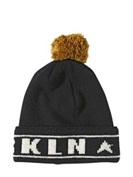 Golden Goose Brkln Vice Double Wool Beanie