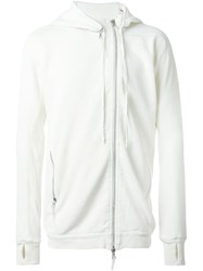 11 By Boris Bidjan Saberi Asymmetric Hooded Sweatshirt