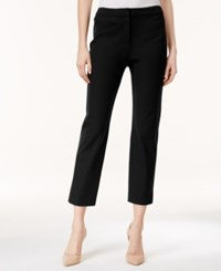 Charter Club Solid Capri Pants Only At Macy's Deep Black