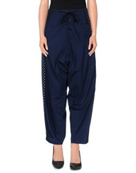 Gipsy Trousers Casual Trousers Women Dark Blue