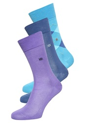 Burlington 3 Pack Socks Multicoloured