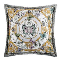 Versace Le Jardin Silk Cushion 50X50cm