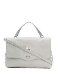 Zanellato Postina Medium Shoulder Bag Grey