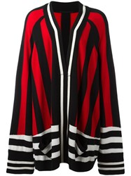 Haider Ackermann Oversized Open Cardigan Black