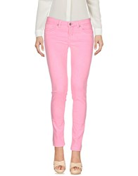 Up Jeans Trousers Casual Trousers Pink