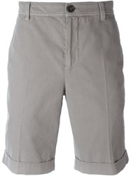 Brunello Cucinelli Rear Flap Pocket Shorts Brown