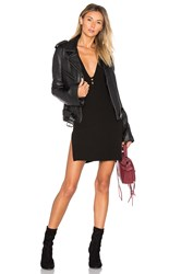 Understated Leather X Revolve Bell Sleeve Mc Jacket Black