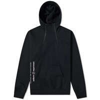 Uniform Experiment Double Zip Hoody Black