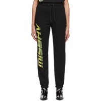 Misbhv Black Space Logo Lounge Pants