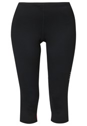 Gore Running Wear Essential Lady Tights Black Berry Red
