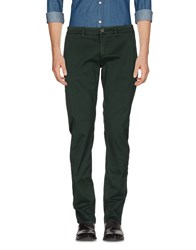 Hamptons Casual Pants Dark Green