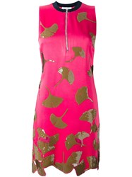 3.1 Phillip Lim Sequin Ginkgo Dress Pink And Purple