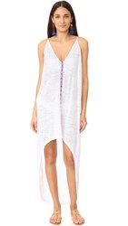 Pitusa Evil High Low Coverup White