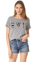 Chaser Daily Rituals Tee Streaky Grey