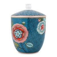 Pip Studio Spring To Life Storage Jar Blue