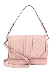 Steve Madden Hampton Faux Leather Shoulder Bag Blush