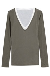 Majestic Layered Cotton Top Gr. 1