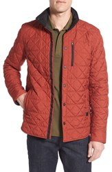 Victorinox Swiss Armyr Men's Army 'Bernhold' Quilted Thermore Insulated Jacket Colorado Brown