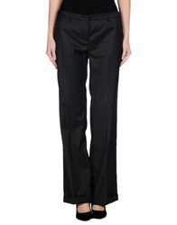 Gold Case Casual Pants Black