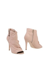 Fiorangelo Ankle Boots Pink