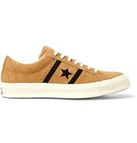 Converse One Star Academy Ox Suede Sneakers Mustard