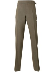 Tom Ford Tailored Tapered Trousers Brown