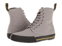Dr. Martens Winsted Mid Grey Canvas Men's Boots Gray
