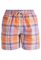 Polo Ralph Lauren Traveler Swimming Shorts Orange Main Beach
