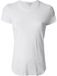 James Perse Classic T Shirt White