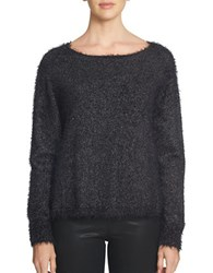 1.State Long Sleeve Sweater Black