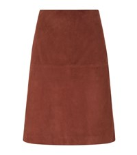 Set Suede Skirt Female