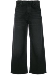 Carhartt Flared Cropped Jeans Black