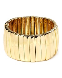 Abs By Allen Schwartz Stretch Bar Cuff Gold