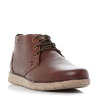 Barbour Bowlam Nubuck Lace Up Boots Light Brown