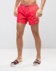 Boss By Hugo Lobster Swim Short In Red Red