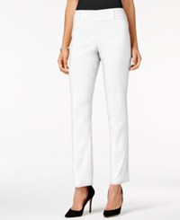 Jm Collection Studded Pull On Created For Macy's Bright White