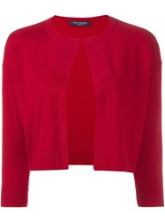 Piazza Sempione Shortsleeved Turtleneck Jumper Red